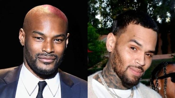 Tyson Beckford Told Chris Brown To Pull Up Over Beef About Karrueche Tran Selfie