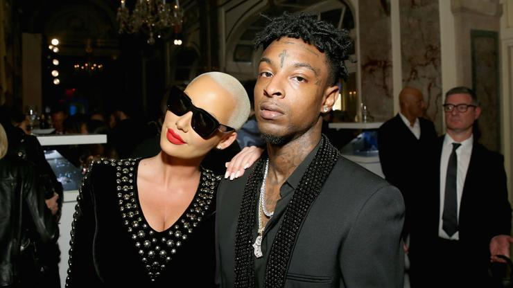 Amber Rose Addresses Fan Suggesting She Cheated On 21 Savage