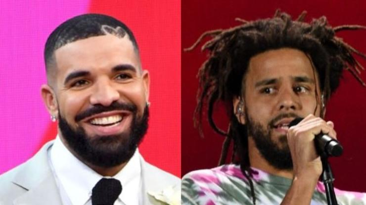 """Drake Tells J. Cole He's """"One Of The Greatest Rappers To Ever Touch A Mic"""""""