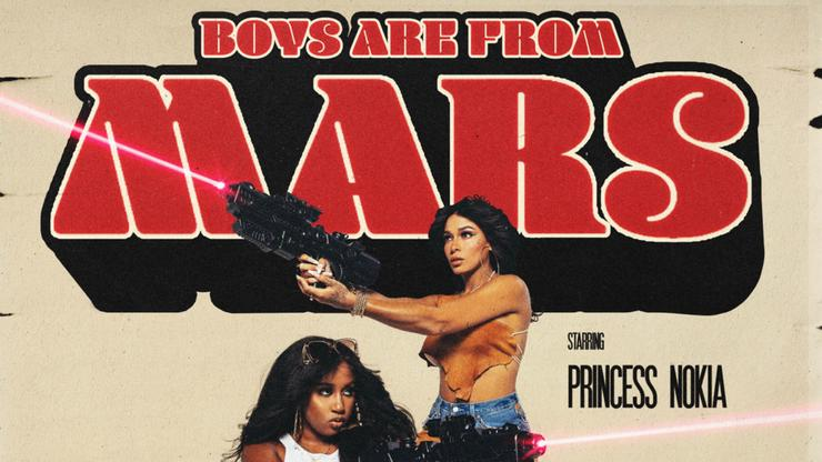 """Princess Nokia Returns With Yung Baby Tate-Assisted Track """"Boys Are From Mars"""""""