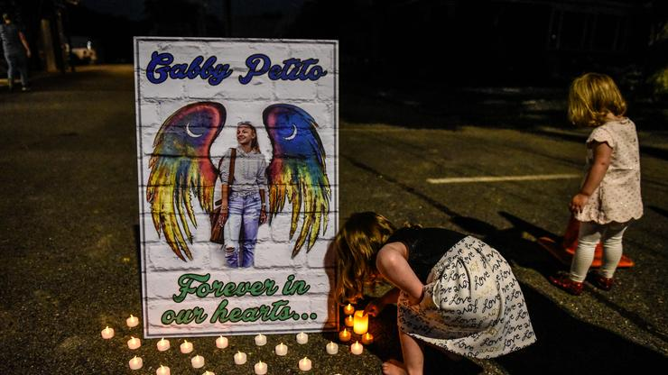 Gabby Petito's Family Holds Funeral In New York As Search For Brian Laundrie Continues