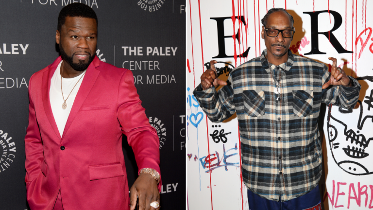 50 Cent Says He Tried To Stop Snoop Dogg From Smoking Pot On 'BMF' Set – VIBE.com