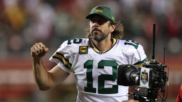 Aaron Rodgers Reacts To Being Called Sensitive