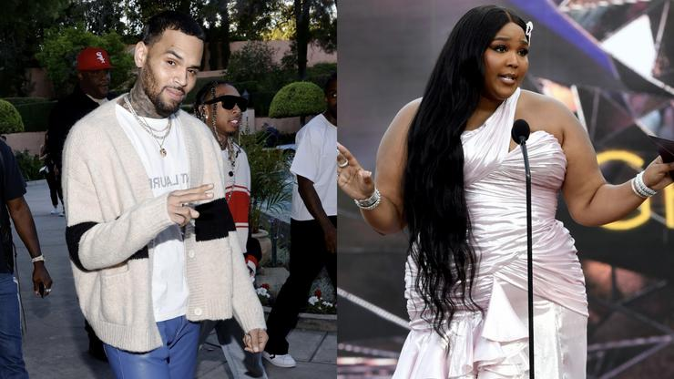 Lizzo & Chris Brown Linked Up At A Bow Wow Concert & Twitter Doesn't Know How To Feel
