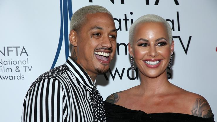 AE & Amber Rose Appear To Throw Subs At Each Other On IG