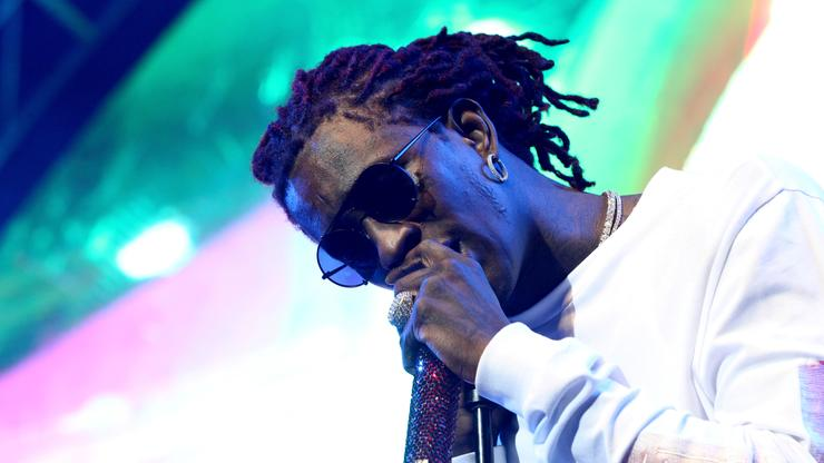 """Young Thug Debuts New Songs From """"Punk"""" At Givenchy Show"""