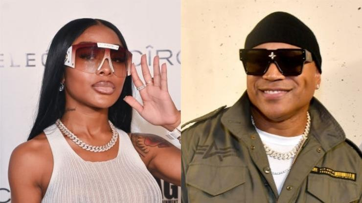 Jayda Cheaves Leaves LL Cool J Hanging In Awkward Video