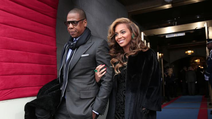 Beyonce Makes A Surprise Appearance At London Film Festival With Jay-Z