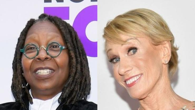 """Whoopi Goldberg Receives Apology After """"Shark Tank"""" Star Jokes About Her Weight"""