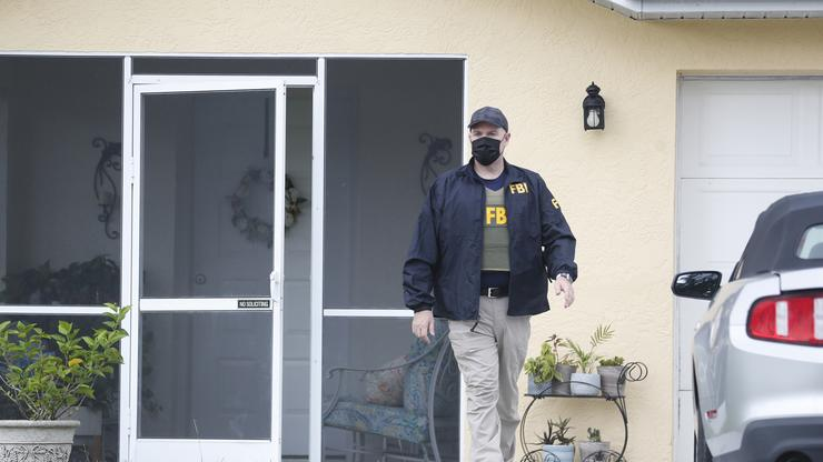 Brian Laundrie's Florida Home Surrounded By Media & Protestors While New Neighbours Move In