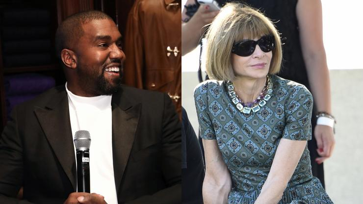 Kanye West & Anna Wintour Seen Grabbing Lunch Together In New York City