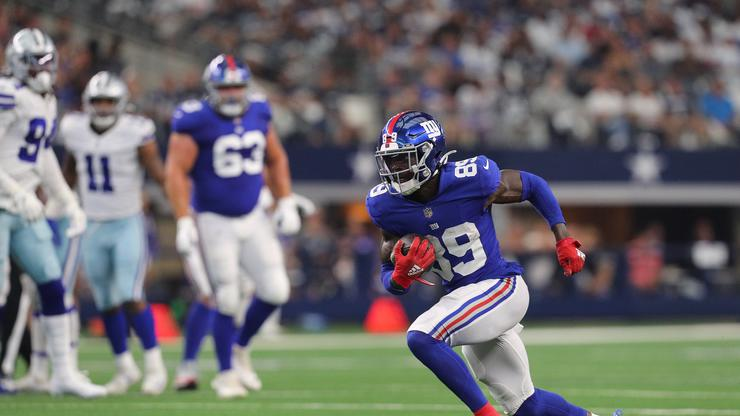 Giants' Kadarius Toney Kicked Out Of Game After Throwing A Punch