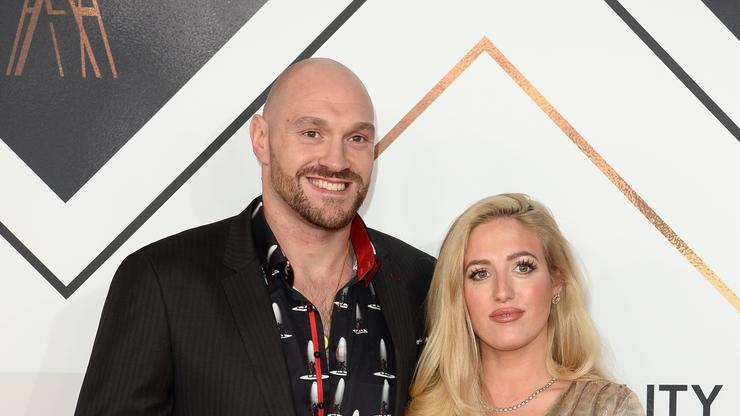 Tyson Fury's Wife Paris Was Terrified During Deontay Wilder Fight