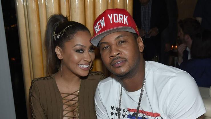 """LaLa Anthony Was """"Caught Off Guard"""" By Carmelo Anthony Divorce"""