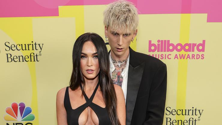 Megan Fox & Machine Gun Kelly's GQ Goth-Chic Cover Story Has Twitter Very Confused