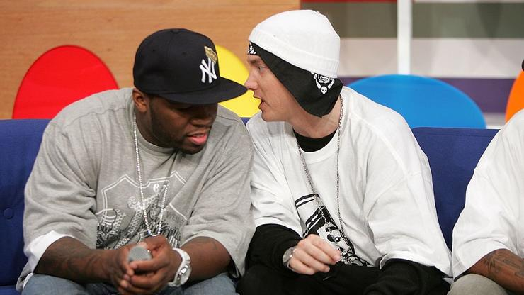50 Cent Reveals What Eminem Texted Him After Appearing On Drew Barrymore's Show