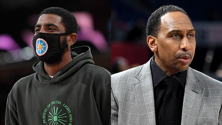 """Stephen A. Smith Responds To Kyrie Irving's IG Live Statements On """"First Take"""""""