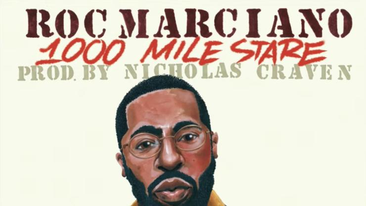 """Roc Marciano Links Up With Nicholas Craven On """"1000 Mile Stare"""""""