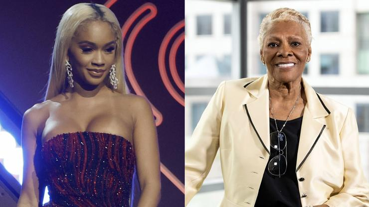 """Dionne Warwick Asks Saweetie About Her Name: """"Why Is It Not Sweetie?"""""""
