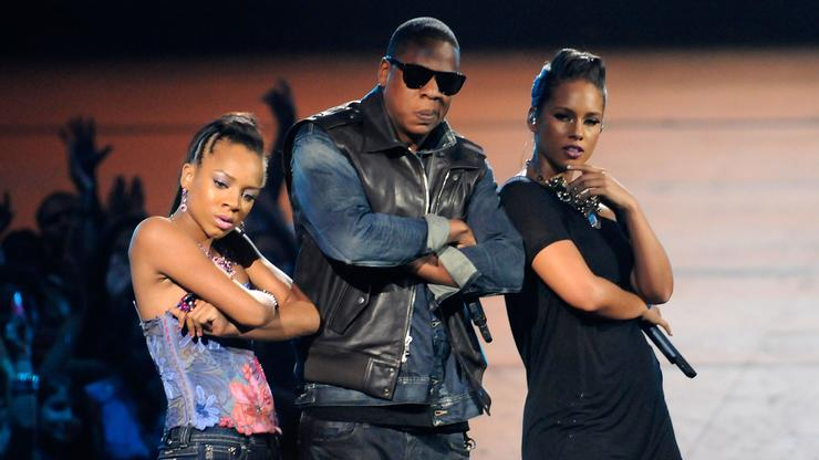 Alicia Keys Didn't Know Lil Mama Was On Stage During VMA Moment With Jay-Z