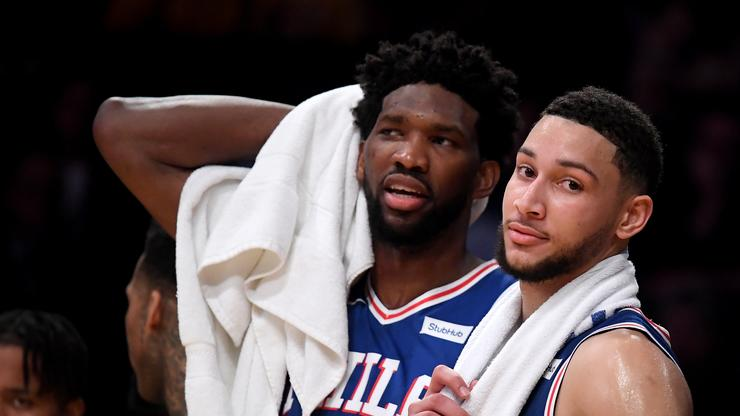 """Joel Embiid Defends Ben Simmons As Crowd Boos: """"He's Still Our Brother"""""""